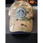 I Love Guns and Coffee Multi Cam Camo Hat