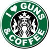 I Love Guns and Coffee Gear