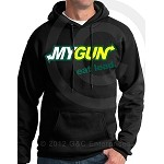 """My Gun"" Hooded Sweatshirt Sizes SM-4XL"