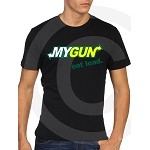 """My Gun"" Men's T-Shirt Sizes SM-4XL Black-Grey"